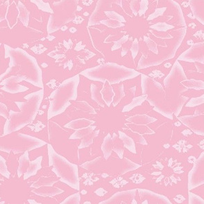 Circle of Flowers in Pink