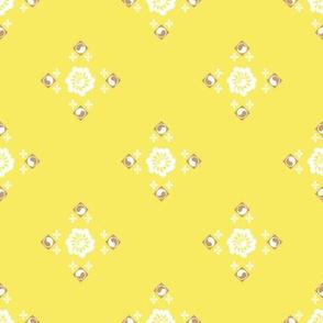 Flower Garden in Yellow