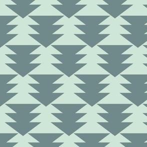 Mint Gray Arrows