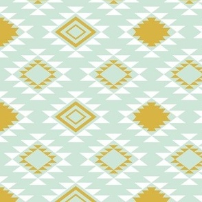 Mint Gold Aztec