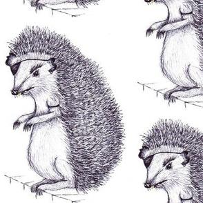 Badass Hedgehog