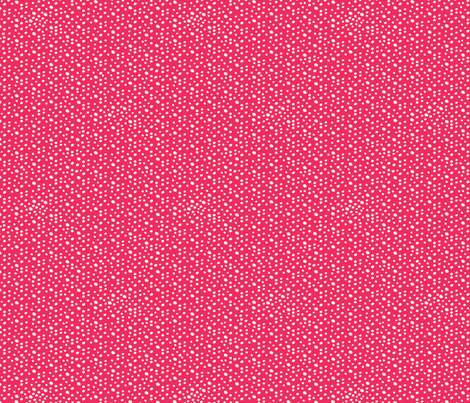 Christmas Dots - Red fabric by laura_mayes on Spoonflower - custom fabric