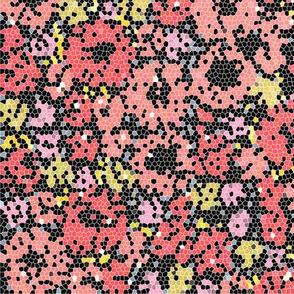 Ditsy flowers (pixel)
