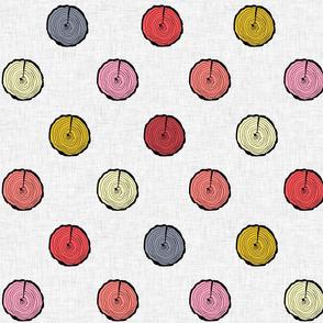 Tree polka dots (big)