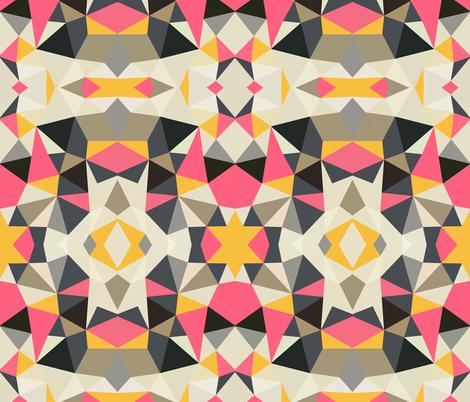 Lemonade Stand Tribal fabric by beththompsonart on Spoonflower - custom fabric