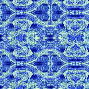 Watercolor-BlueHue Swirls