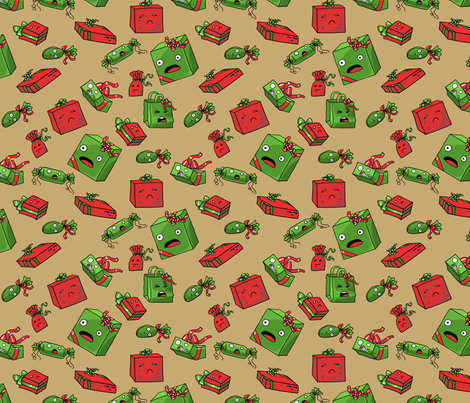 Psychotic Gifts fabric by amber_morgan on Spoonflower - custom fabric