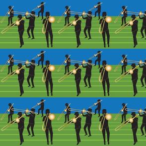 Trombone Marching Band 7x6