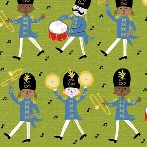Marching Band for Spoonflower!