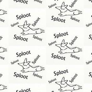 Corgi Sploot