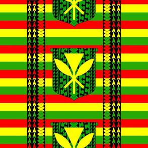 Tribal Kanaka Maoli Flag