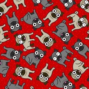 Pug-a-Dot (Red)