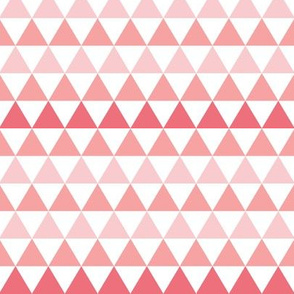 Ombre Triangle Pink SMALL scale
