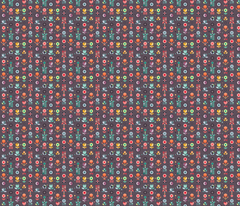 Flowers fabric by la_fabriken on Spoonflower - custom fabric