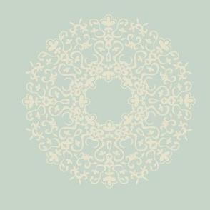 Fleur de Lis soft ornament