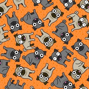 Pug-a-Dot (Orange)