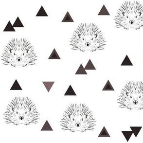 hedgehogs brown