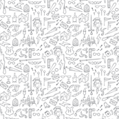 Small Grey Doodles