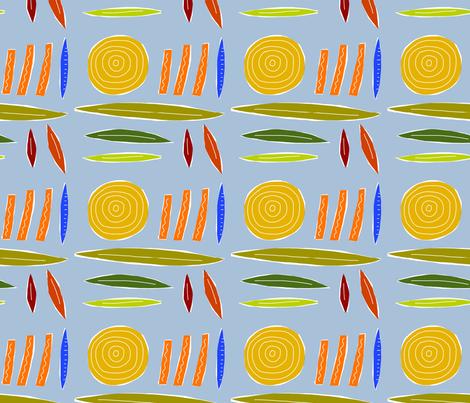 fab_spiral fabric by kimmurton on Spoonflower - custom fabric