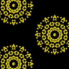 Nerve Endings in Bright Yellow
