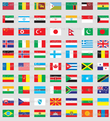 Modern Flags of the World
