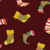 Funky Christmas Stockings