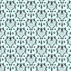 Cat damask (small)