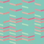Striped Aqua