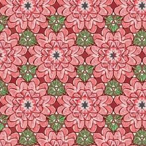 Pink Christmas Flower