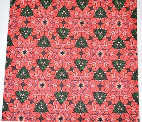 Red Christmas Flower