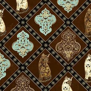 Fancy Cat Quilt Squares