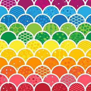 Waves of Rainbows (Small)