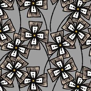 Boxy Clarkia Amoena - Straw