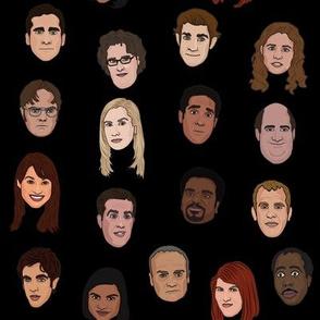 The Office V2 - Black Background