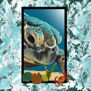 Turtle_on_batik_bg