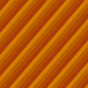 Diagonal orange toned stripes darker