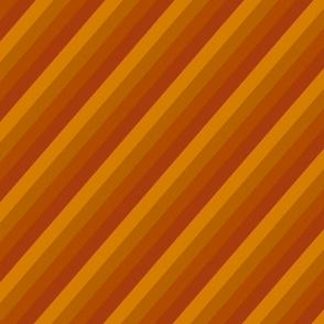 Diagonal orange toned stripes darker