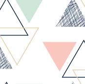 geo triangles // briar woods