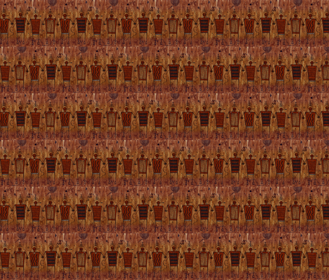 Ancient Friends of The Four Corners fabric by doug_miller on Spoonflower - custom fabric