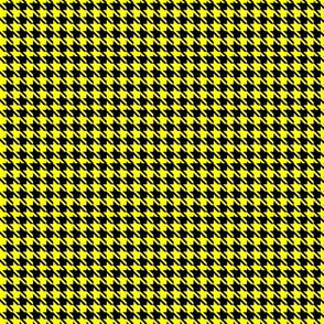 Yellow Houndstooth