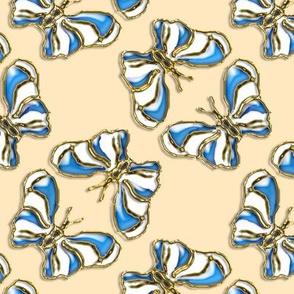 Mock Enamel Butterflies