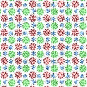Snowy Peppermints