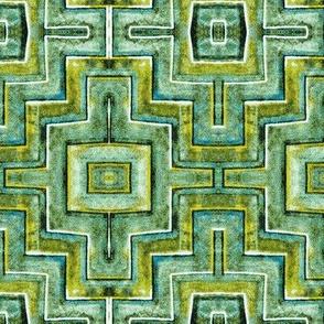 City Palace Jaipur, Green Tiles