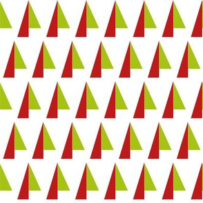 Abstract Christmas Trees 1