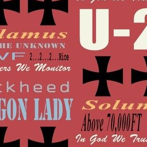 U-2 Phrases Red