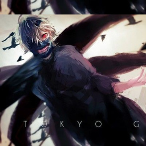 ken kaneki kagune mask white hair