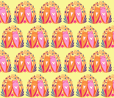 If There Were Two fabric by katwithak on Spoonflower - custom fabric
