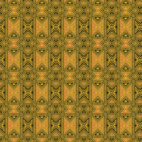 Osmanli ~ Sara  fabric by peacoquettedesigns on Spoonflower - custom fabric