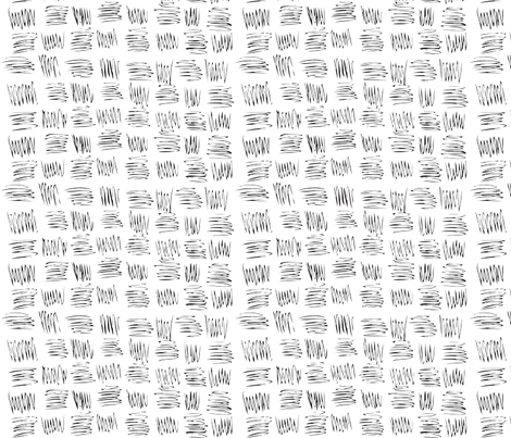 Light Sketchy Grid fabric by myvisualmark on Spoonflower - custom fabric