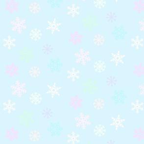 Pastel Snowfall